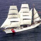 U.S. COAST GUARD CUTTER 'EAGLE' UNDER FULL SAIL - 8X10 PHOTO (AA-130)