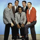 THE RAT PACK SINATRA, MARTIN, DAVIS, JR, LAWFORD, BISHOP - 8X10 PHOTO (AA-212)