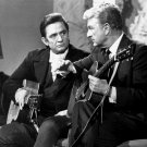 "STILL FROM ""THE JOHNNY CASH SHOW"" FEATURING EDDIE ALBERT - 8X10 PHOTO (AA-898)"