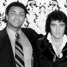 "MUHAMMAD ALI ""THE GREATEST"" WITH ELVIS ""THE KING"" 8X10 PUBLICITY PHOTO (ZY-192)"