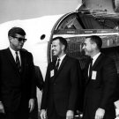 PRESIDENT JOHN F. KENNEDY TOURS CAPE CANAVERAL 11/16/63 8X10 NASA PHOTO (EP-466)