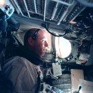 ASTRONAUT THOMAS P. STAFFORD DURING GEMINI 9 MISSION - 8X10 NASA PHOTO (AA-109)