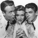 WAYNE MORRIS PRISCILLA LANE & RONALD REAGAN IN 'BROTHER RAT' - 8X10 PHOTO (AA-606)