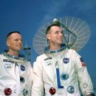 GEMINI 8 ASTRONAUTS NEIL ARMSTRONG AND DAVE SCOTT - 8X10 NASA PHOTO (AA-608)