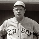 """BABE"" RUTH AS A PLAYER FOR THE BOSTON RED SOX IN 1918 - 8X10 PHOTO (AA-843)"