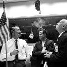 CHRIS KRAFT GORDON COOPER GILRUTH GEMINI 6/7 RENDEZVOUS 8X10 NASA PHOTO (AA-536)