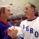 GORDIE HOWE AND BOBBY HULL HOCKEY LEGENDS - 8X10 PUBLICITY PHOTO (ZY-198)