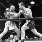 ROCKY MARCIANO KNOCKOUT JERSEY JOE WALCOTT FOR BOXING TITLE 8X10 PHOTO (EP-893)