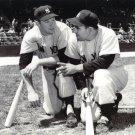 NEW YORK YANKEES LEGENDS MICKEY MANTLE AND YOGI BERRA - 8X10 PHOTO (EP-913)