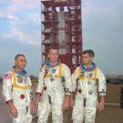 APOLLO 1 ASTRONAUTS ED WHITE, GUS GRISSOM & ROGER CHAFEEE- 8X10 PHOTO (EP-443)