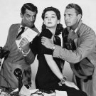 CARY GRANT, ROSALIND RUSSELL, BELLAMY IN 'HIS GIRL FRIDAY' - 8X10 PHOTO (DA-503)