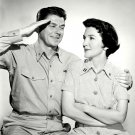 "RONALD REAGAN & NANCY DAVIS IN ""HELLCATS OF THE NAVY"" - 8X10 PHOTO (EP-685)"