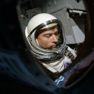 ASTRONAUT JOHN YOUNG PRIOR TO LAUNCH ON GEMINI 3 - 8X10 NASA PHOTO (AA-474)