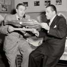 WALT DISNEY WITH ED SULLIVAN IN 1953 - 8X10 PUBLICITY PHOTO (AZ-028)