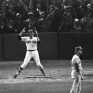 "CARLTON FISK ""WAVES IT FAIR"" GAME 6 1975 WORLD SERIES BOSTON 8X10 PHOTO (AZ-040)"