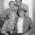 CAST FROM THE TV SITCOM 'THE BEVERLY HILLBILLIES' 8X10 PUBLICITY PHOTO (DA-534)