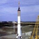 LIFTOFF OF LIBERTY BELL 7 MERCURY ATLAS 4 (MA-4) ROCKET 8X10 NASA PHOTO (BB-867)