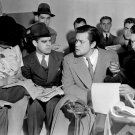 ORSON WELLES W/ REPORTERS AFTER WAR OF THE WORLDS BROADCAST 8X10 PHOTO (CC-001)