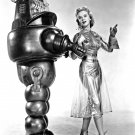 "ANNE FRANCIS ""ROBBY THE ROBOT"" 'FORBIDDEN PLANET' 8X10 PUBLICITY PHOTO (BB-799)"