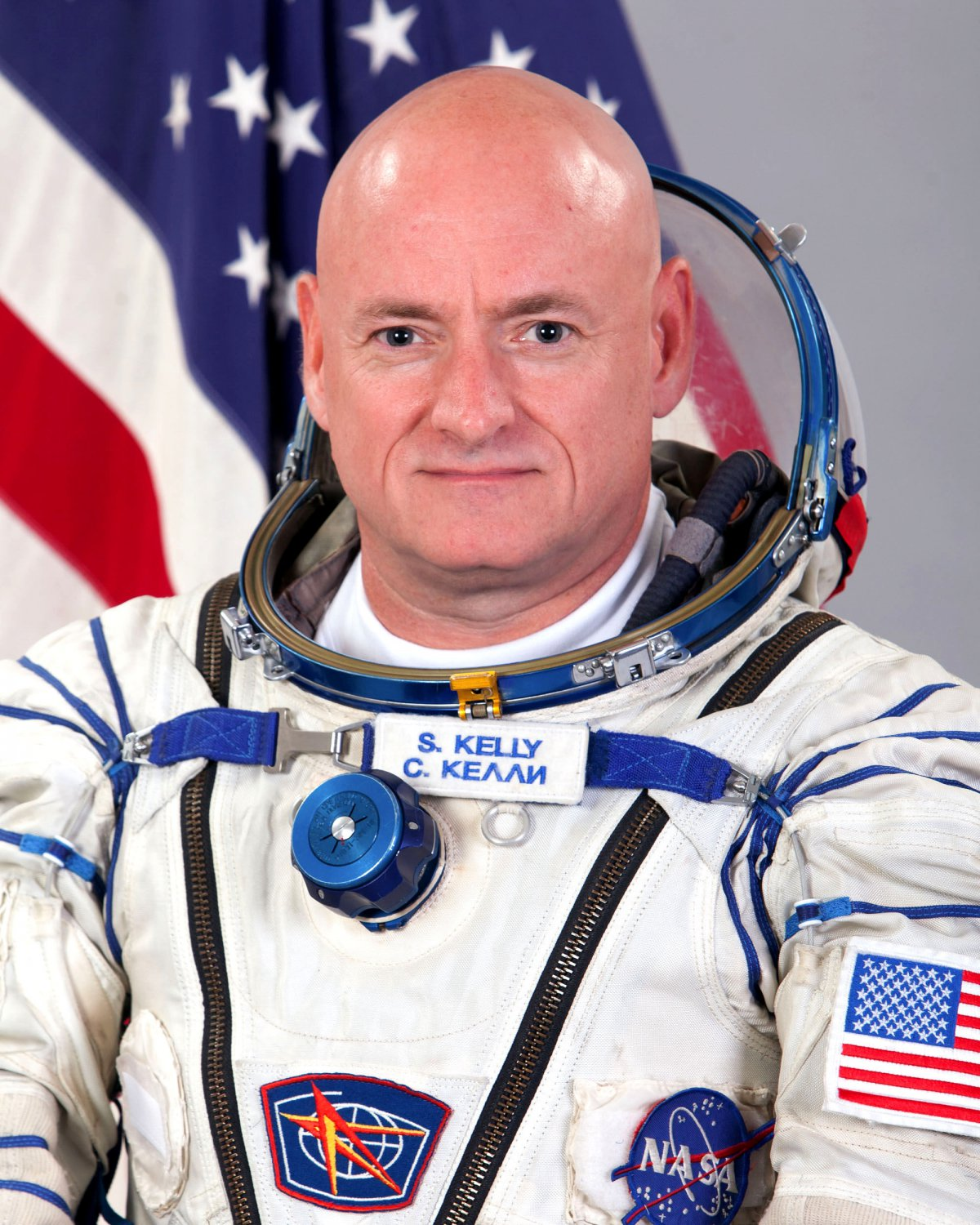 ASTRONAUT SCOTT KELLY - 8X10 NASA PHOTO (BB-933)