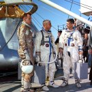 APOLLO 1 ASTRONAUTS ED WHITE GUS GRISSOM ROGER CHAFFEE 8X10 NASA PHOTO (BB-939)