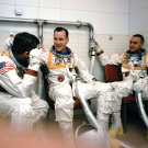 APOLLO 1 ASTRONAUTS ED WHITE GUS GRISSOM ROGER CHAFFEE 8X10 NASA PHOTO (BB-947)