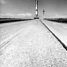 APOLLO 11 SATURN V CRAWLS TOWARD LAUNCH COMPLEX 39 - 8X10 NASA PHOTO (BB-962)