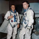 GEMINI 3 ASTRONAUTS GUS GRISSOM AND JOHN YOUNG - 8X10 NASA PHOTO (BB-747)