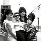 PHIL SPECTOR w/ 'THE RONETTES' @ GOLD STAR STUDIOS 8X10 PUBLICITY PHOTO (DD-011)