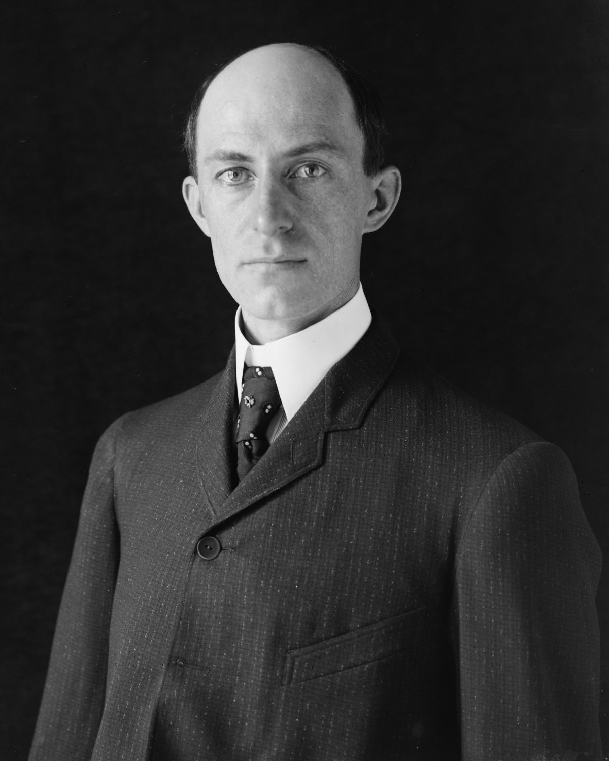 WILBUR WRIGHT AVIATION PIONEER - 8X10 PHOTO (BB-473)