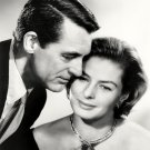 CARY GRANT AND INGRID BERGMAN IN 'INDISCREET' - 8X10 PUBLICITY PHOTO (NN-129)