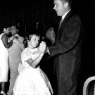 RICHARD NIXON DANCES WITH HIS DAUGHTER AT EVENT IN NEW YORK 8X10 PHOTO (AA-882)