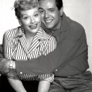 LUCILLE BALL AND DESI ARNAZ - 8X10 RARE PUBLICITY PHOTO (DD-108)