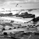 LANDING SHIPS AT OMAHA BEACH DURING THE INVASION OF NORMANDY 8X10 PHOTO (AB-131)