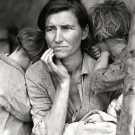MIGRANT MOTHER (1936) DOROTHEA LANGE PHOTOGRAPHER - 8X10 PHOTO (DD-111)