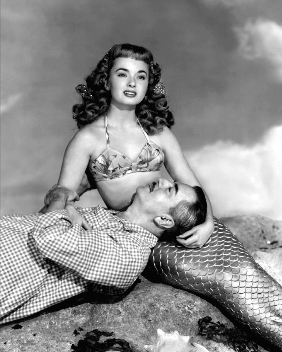 ANN BLYTH WILLIAM POWELL MR PEABODY & THE MERMAID 8X10 PUBLICITY PHOTO (EE-016)