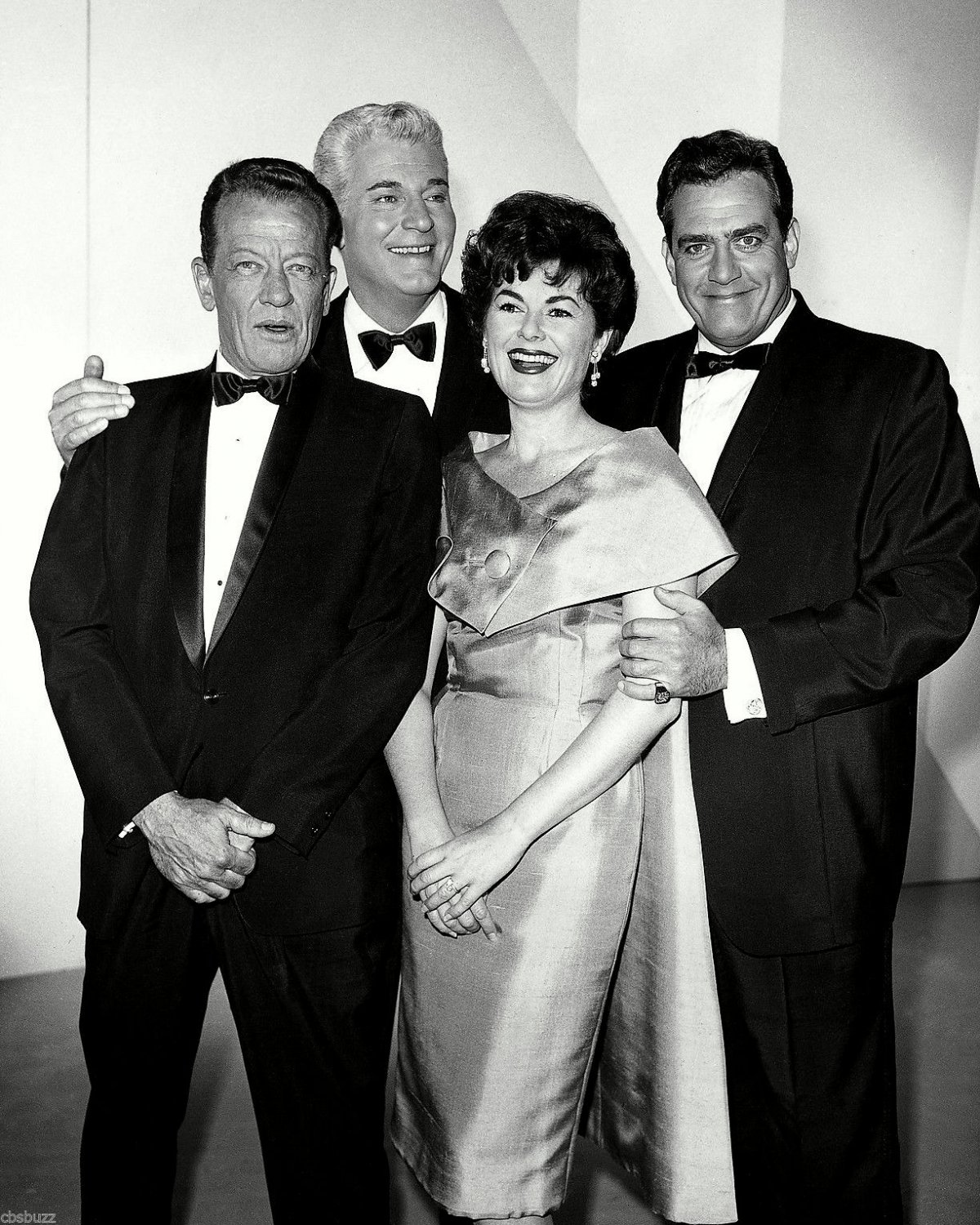 THE CAST OF THE TV SERIES 'PERRY MASON' - 8X10 PUBLICITY PHOTO (NN-140)