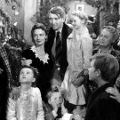 JAMES STEWART DONNA REED 'IT'S A WONDERFUL LIFE' - 8X10 PUBLICITY PHOTO (BB-721)