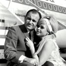 JAYNE MANSFIELD ACTRESS SEX-SYMBOL WITH SAM BRODY IN 1967 - 8X10 PHOTO (EE-061)