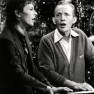 BING CROSBY DAVID BOWIE IN A 1977 TV CHRISTMAS SPECIAL - 8X10 PHOTO (OP-015)