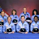 SPACE SHUTTLE CHALLENGER CREW PORTRAIT STS-51L MISSION 8X10 NASA PHOTO (EP-423)