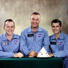 APOLLO 1 ASTRONAUTS ED WHITE GUS GRISSOM ROGER CHAFEEE 8X10 NASA PHOTO (EP-424)
