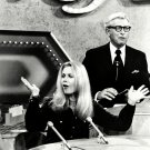 ELIZABETH MONTGOMERY & ALLEN LUDDEN ON 'PASSWORD' 8X10 PUBLICITY PHOTO (XBB-573)