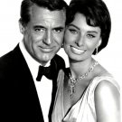 CARY GRANT & SOPHIA LOREN IN THE FILM 'HOUSEBOAT' 8X10 PUBLICITY PHOTO (DA-217)