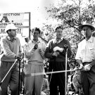 JERRY LEWIS, DEAN MARTIN, BOB HOPE & BING CROSBY AT CHARITY GOLF EVENT - 8X10 PHOTO (ZZ-034)