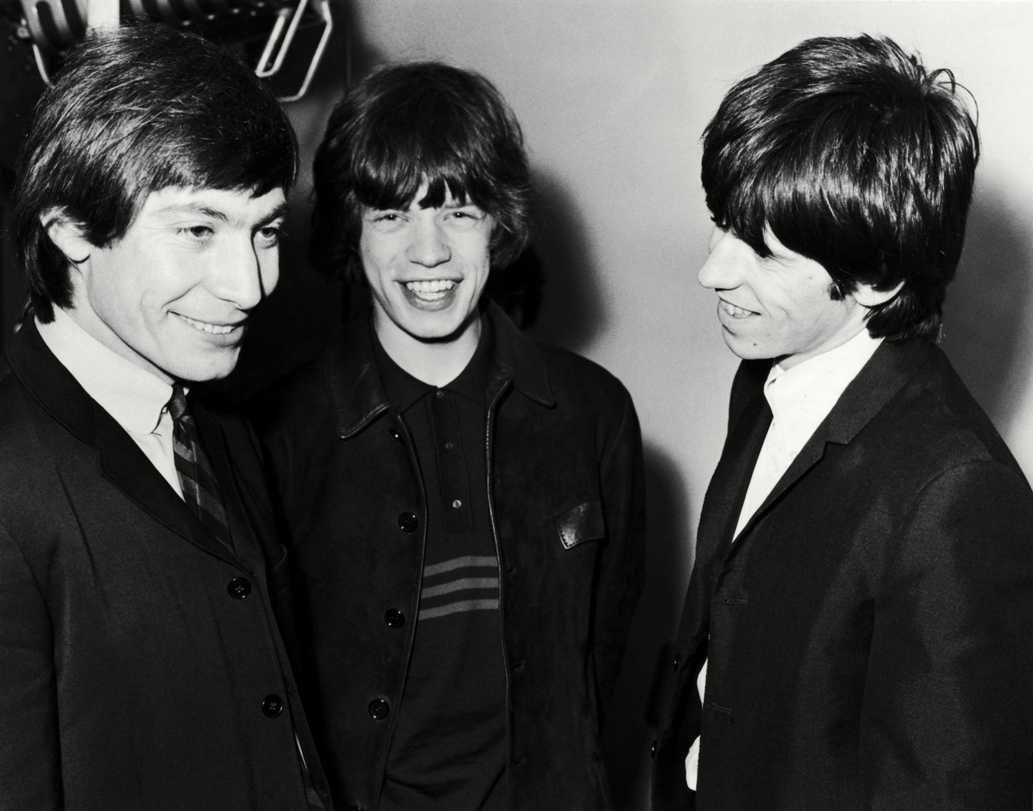 CHARLIE WATTS MICK JAGGER KEITH RICHARDS THE ROLLING STONES 8X10 PHOTO (OP-024)