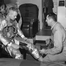 TEST PILOT NEIL ARMSTRONG PRIOR TO FIRST X-15 FLIGHT - 8X10 PHOTO (EE-098)