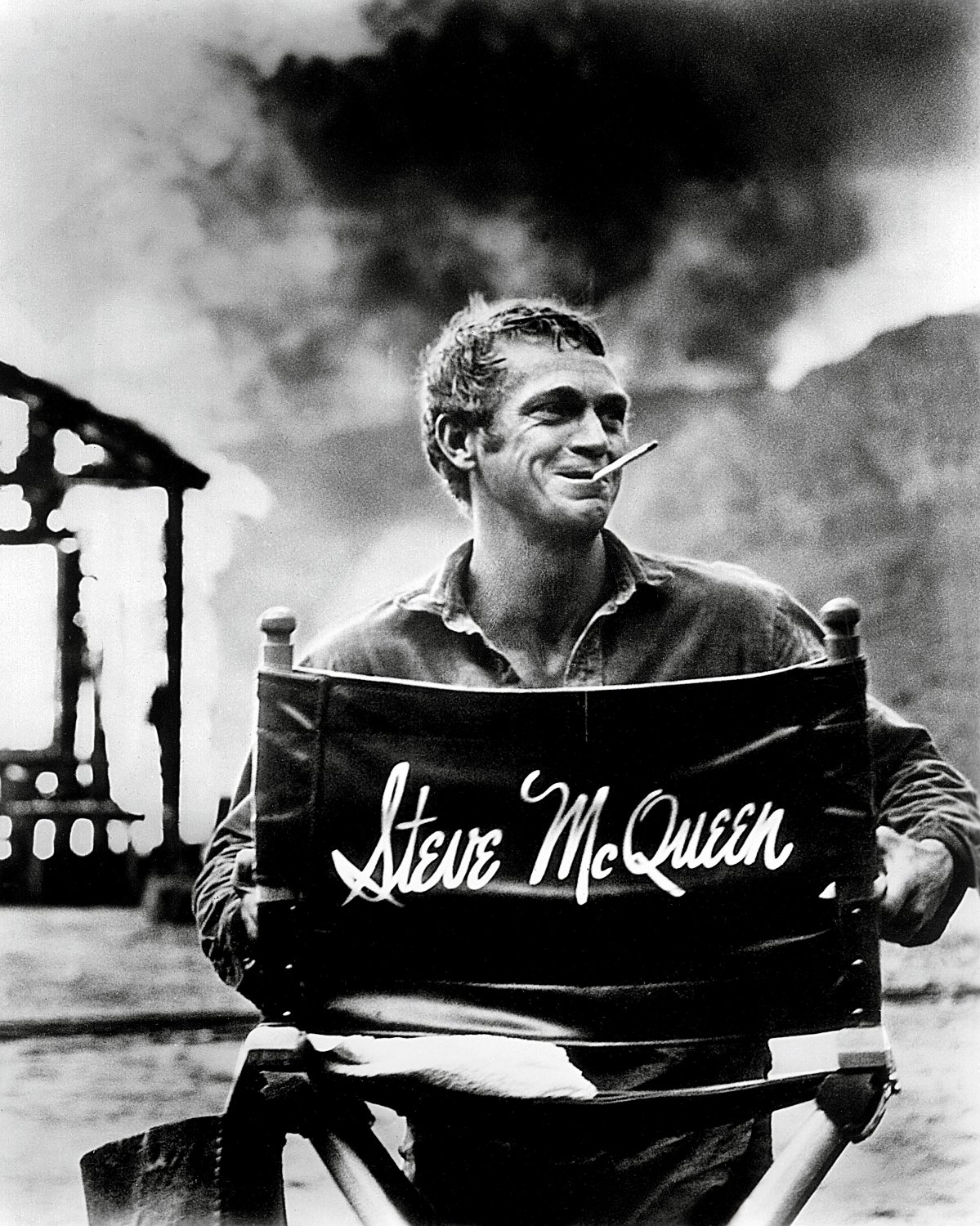 STEVE McQUEEN LEGENDARY ACTOR - 8X10 PUBLICITY PHOTO (AB-149)