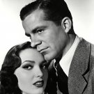 "DANA ANDREWS AND LINDA DARNELL IN ""FALLEN ANGEL"" - 8X10 PUBLICITY PHOTO (CC-122)"