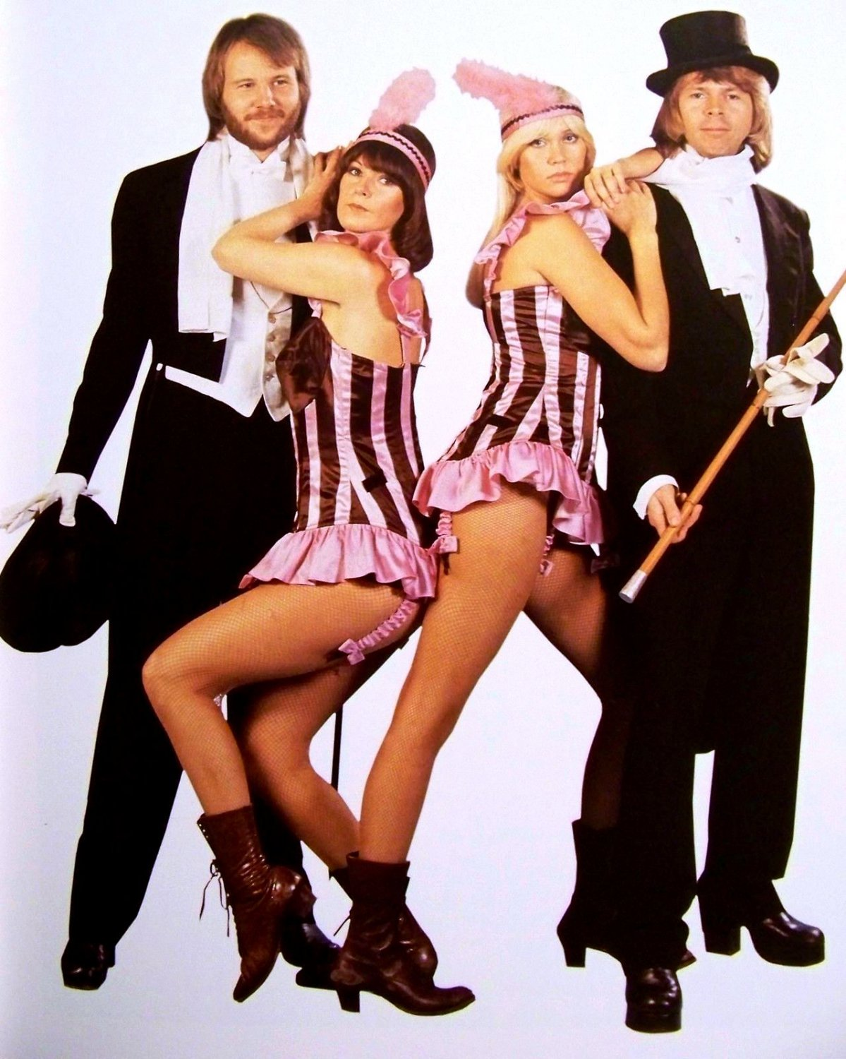 """����"" ABBA LEGENDARY SWEDISH POP MUSIC GROUP - 8X10 PUBLICITY PHOTO (DA-723)"